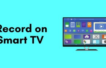 can you record on a smart tv