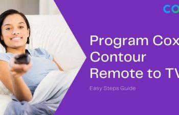 how to program cox contour remote to tv