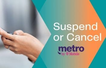 temporarily suspend metro pcs phone